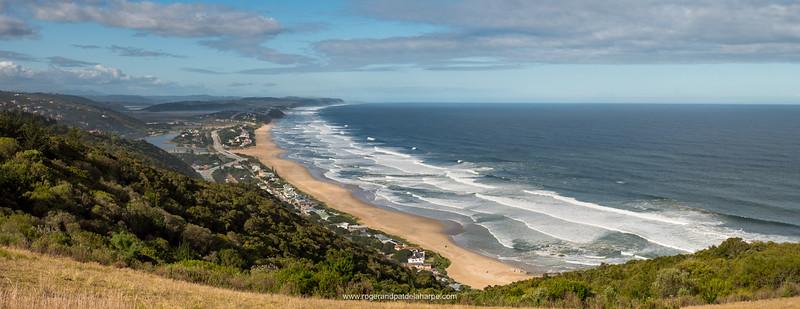Wilderness beach. Garden Route. Western Cape. South Africa