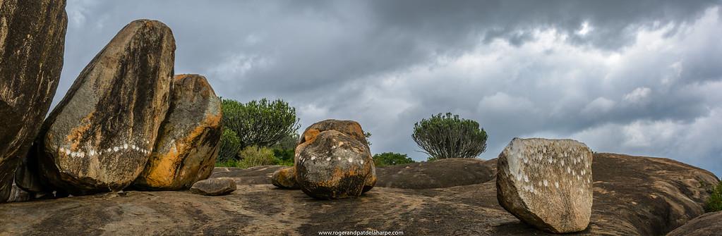 Ngong Rocks (rock). Central Serengeti National Park. Tanzania