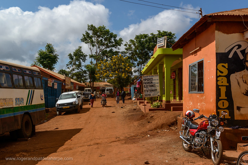 Street scene. Karatu. Tanzania
