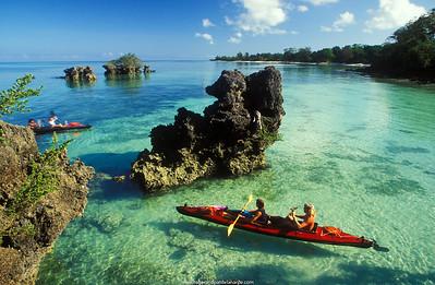 Sea Kayaking. Tondooni Beach. Pemba. ZanzibarTanzania