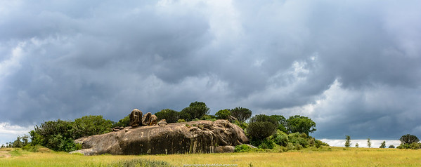 Ngong Rocks (rock). Central Serengeti National Park. Tanzania