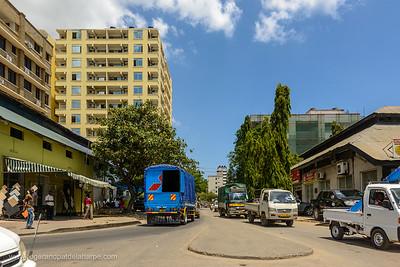 Street scene. Dar es Salaam. Tanzania