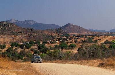 Rural scene near iNyanga. Zimbabwe