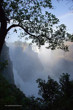 Victoria Falls or Mosi-oa-Tunya. Zimbabwe