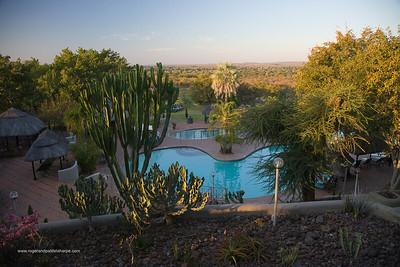View from Elephant Hills HotelVictoria Falls. Zimbabwe