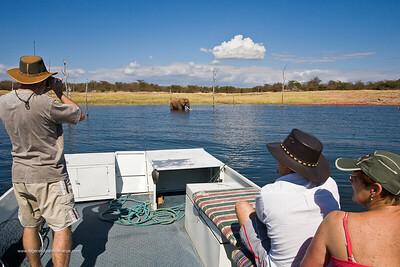 Lake Kariba. Zimbabwe