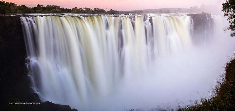 Victoria Falls Main Falls. Zimbabwe