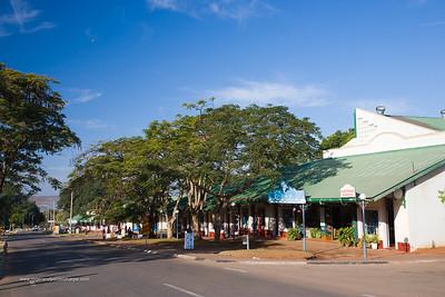 Street scene. Victoria Falls. Zimbabwe
