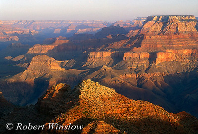 TRAVEL USA - STOCK PHOTO LISTINGS  Image caption: Sunrise From Desert View, South Rim, Grand Canyon National Park, Arizona, United States, North America  L - Travel (USA)  002  Adirondacks 010  Alaska 020  Antelope Canyon, AZ 030  Appalachian Trail 040  Arches National Park, UT 041  Arches National Park, UT - Aerials 050  Arizona 053  Badlands National Park, SD 055  Bison Range, MT 060  Bisti Badlands, NM   065  Black Hills, SD         Bosgue Del Apache See # A-560) 070  Bryce Canyon National Park, UT 075  California 080  Canyonlands National Park, UT 090  Capital Reef National Park, UT 100  Capulin National Monument, NM 103  Connecticut 105  Coyote Gulch, UT 110  Death Valley National Monument, CA 120  Dinosaur National Monument, UT 130  Glacier National Park, MT 140  Glacier Bay National Monument, AK 150  Grand Canyon National Park, AZ 160  Grandfather Mountain, NC 168  Great Basin NP, Nevada 170  Green River, UT 180  Havasau Canyon, UT 190  Hawaii 200  Idaho 210  Joshua Tree National Monument, CA 215  Katmai National Park, Alaska 220  Lake Powell, UT 228  Lake Tahoe 230  Little Colorado River Canyon, AZ 235  Meteor Crater, AZ 240  Mokee Dugway, UT 247  Mount Rushmore National Park, SD 250  Montana 260  Monument Valley, AZ/UT 270  Nashville, TN + entire state         National Elk Refuge, WY  see # A-210 280  Natural Bridges National Monument, UT 285  Neveda 290  New England 300  New Hampshire 310  New Mexico 320  Olympic National Park, WA 325  Oregon 326  Oregon Trail 330  Petrified Forest National Park, AZ 335  Rocky Mountain National Park, CO 340  San Diego, CA 350  San Xavier del Bac Mission, AZ 360  Seattle, WA 370  Shiprock, NM 380  Grand Teton National Park, WY 390  Utah 391  Valley of the Gods, UT 392  Washington State 409  Wyoming 400  White Sands National Monument, NM 410  Yellowstone National Park 411  Grand Canyon of the Yellowstone 420  Yellowstone Termals 430  Yellowstone in Winter 440  Zion National Park, UT