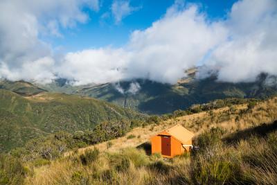 Adventure Bivouac, Zit Saddle Route, Toaroha Range, Hokitika Catchments