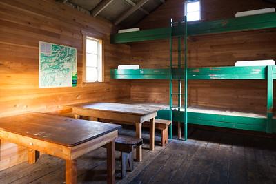 Hurunui No 3 Hut interior, Lake Sumner Forest Park