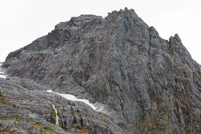 Mt Makere, SE Face, Darran Mountains, Fiordland National Park
