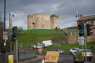 Clifford's Tower, York, North Yorkshire, England