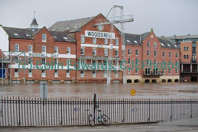 Flooding following Storm Ciara and Storm Dennis, York, North Yorkshire, England