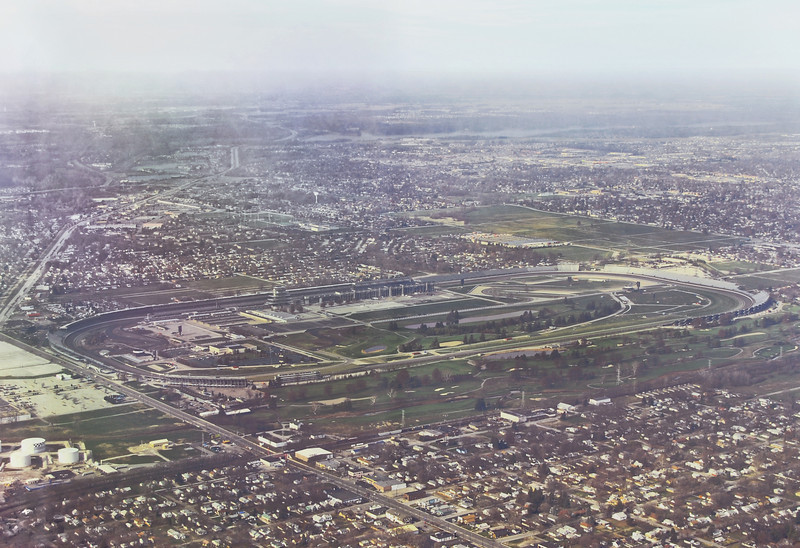"Indianapolis Speedway where the Indy 500 takes place every year in May. Affectionately called the ""Brickyard"""