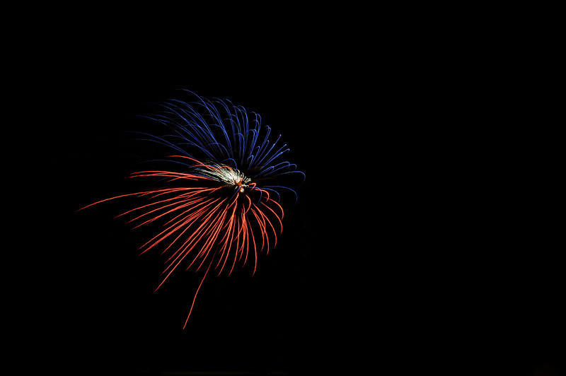 Fireworks on the 4th of July!
