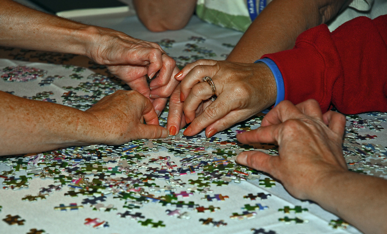 Not everyone needs that same piece of the puzzle do they?