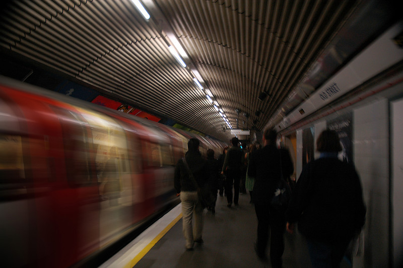 Underground transportation in London