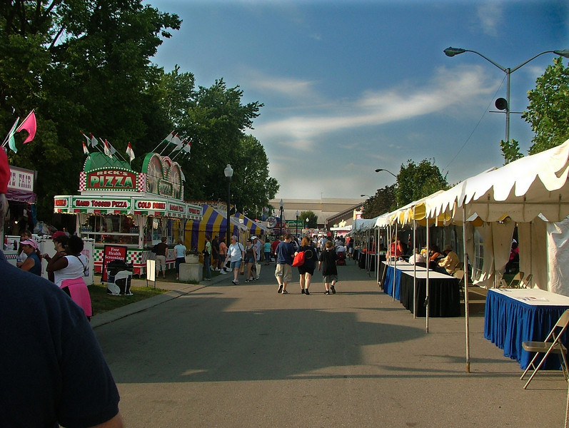 Opening day at the Fair