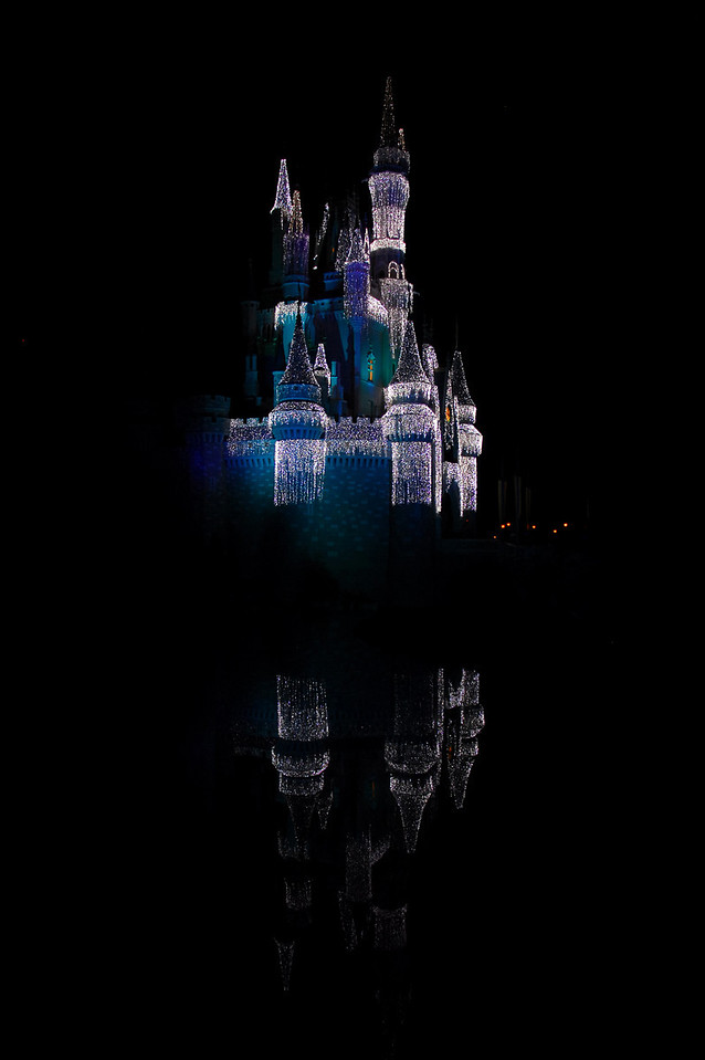 It's Christmas time at Cinderella Castle