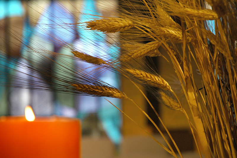 Wheat and Candle