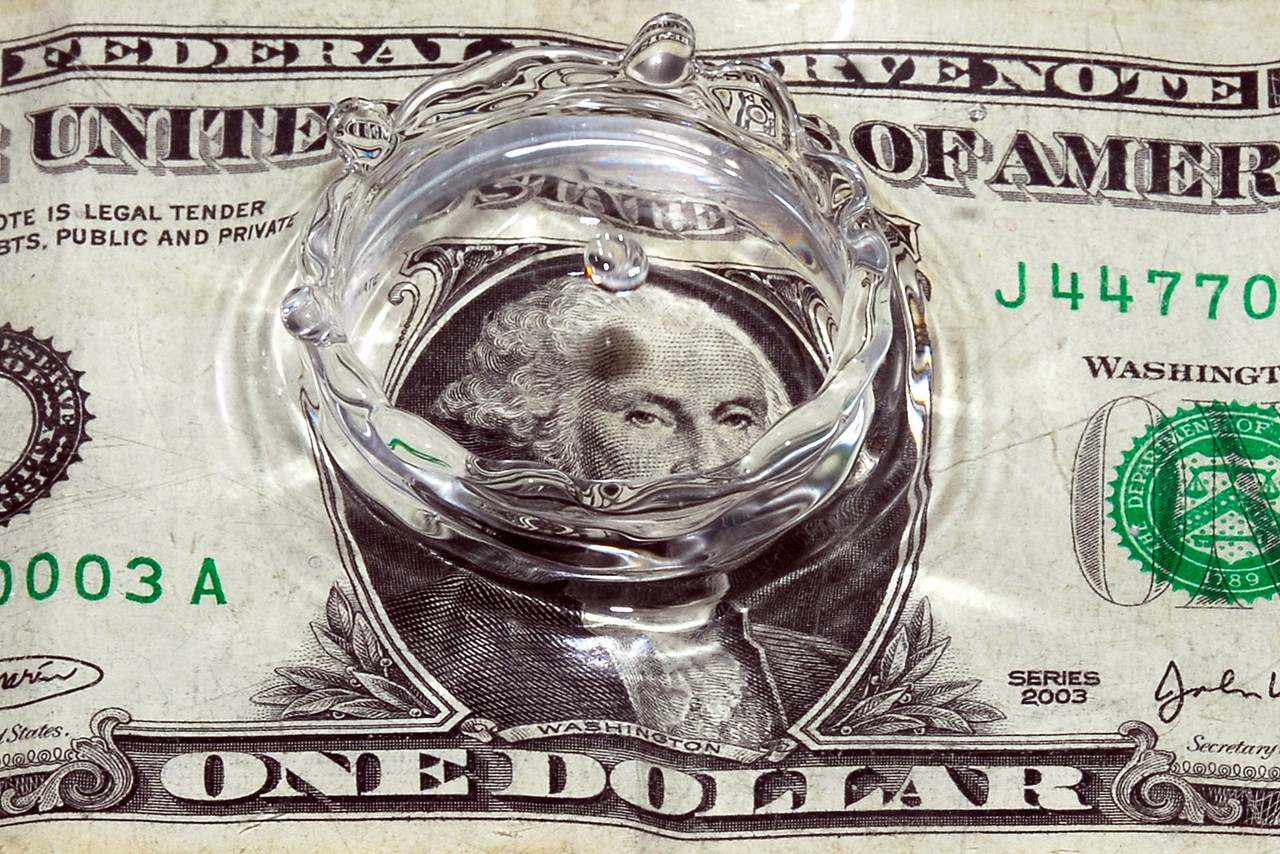 """The American dollar... making a """"ripple"""" in the market?"""