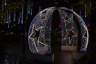 Christmas Lights, Watford, England