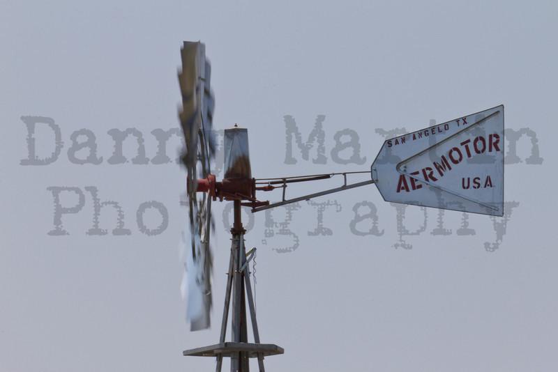 Windmill<br /> Buffalo Lake National Wildlife Refuge, Texas.