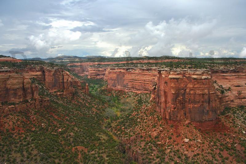 canyon.  Colorado National Monument, CO.