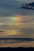 suspended Rainbow at sunset<br /> Las Animas County, Colorado