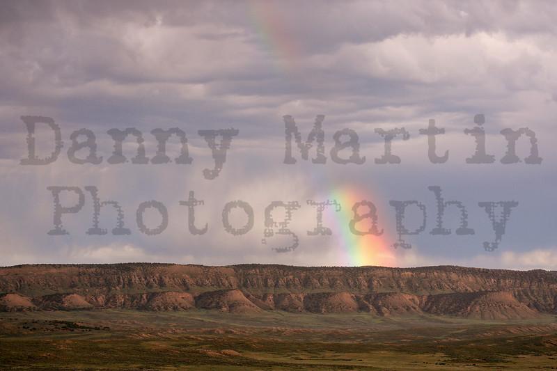 rainbow.  northwestern Colorado.