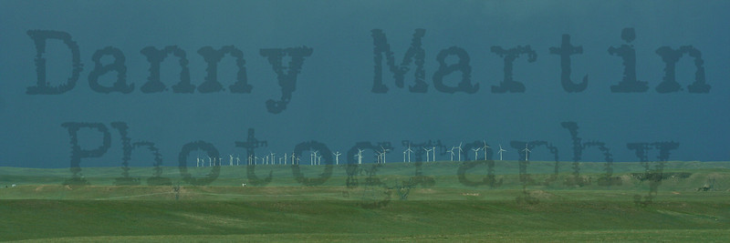 Wind Turbines near the Colorado / Wyoming border.