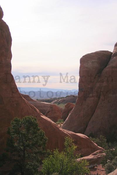 maze of rock.  Colorado National Monument, CO.