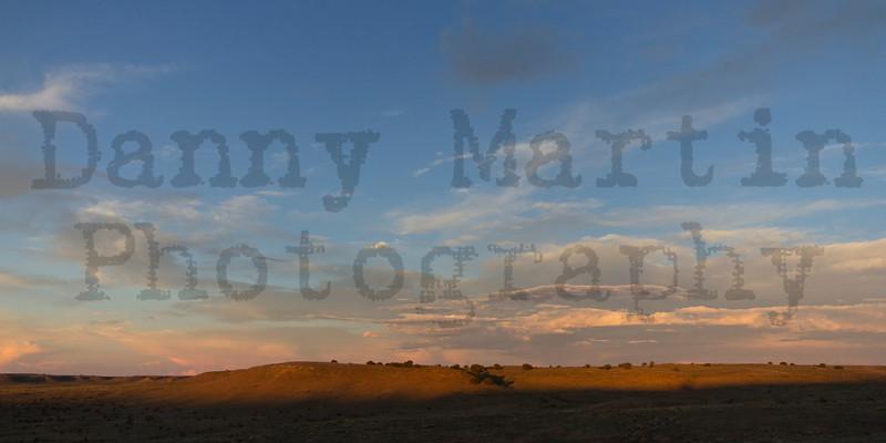 First morning rays<br /> Comanche National Grassland, Otero County, Colorado.