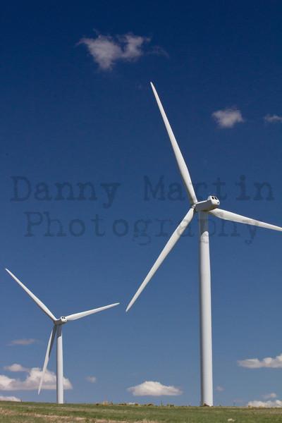 Wind Turbines<br /> Weld County, Colorado.