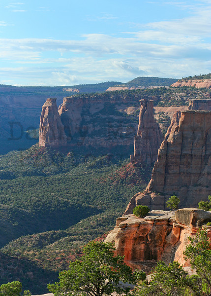 canyon country.  Colorado National Monument, CO.