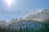 wind-blown snow near Bear Lake.  Rocky Mountain National Park, CO.
