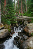 Falls.  Rocky Mountain National Park, CO.