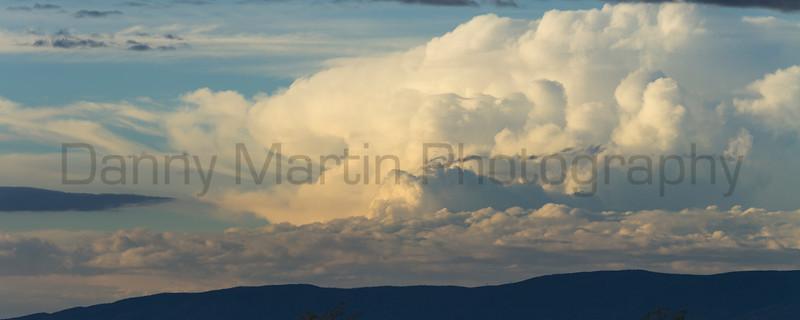 Storm Clouds building<br /> North Park, Jackson County, Colorado.
