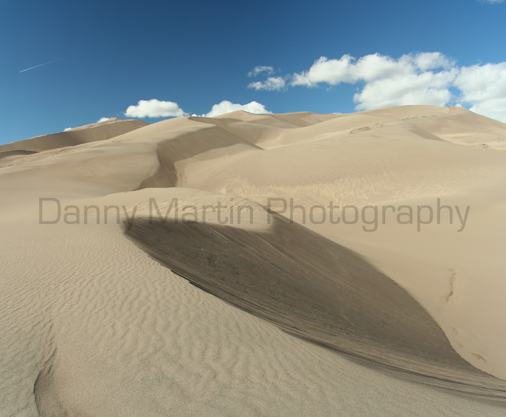 Great Sand Dunes <br /> San Luis Valley, Colorado.<br /> *(stitched image)