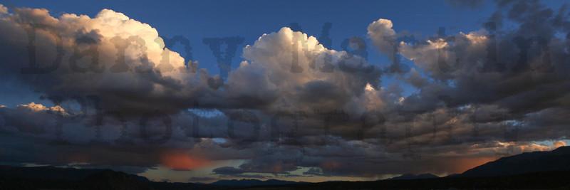 Clouds at sunset.  Near Buena Vista, CO.