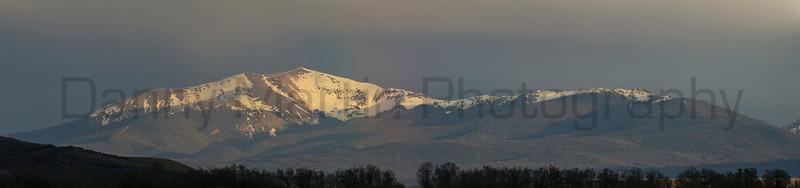 Rainbow in North Park<br /> Jackson County, Colorado.