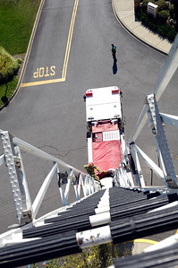 Top of an Aerial Ladder