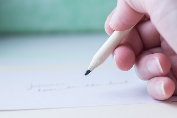 Pencil Writing