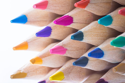 Colored Pencils Pattern