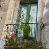 balcony, Taomina, Sicily, Italy