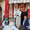 shopkeeper in Taomina, Sicily, Italy