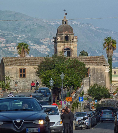 church, Messina, Sicily, Italy