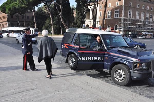 carabinieri (police), Rome, Italy