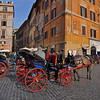 carriage rides offered, Rome Italy
